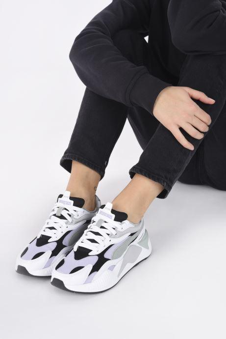 Sneakers Puma Rsx3 Layers W Grigio immagine dal basso