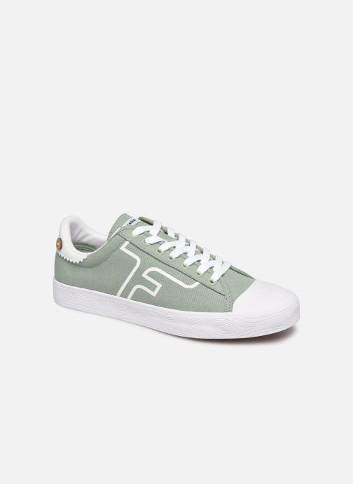 Sneaker Faguo KIWI BASKETS COTTON M grün detaillierte ansicht/modell