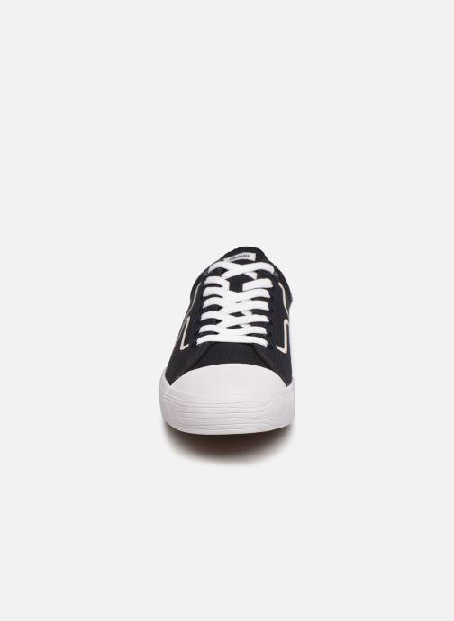 Baskets Faguo KIWI BASKETS COTTON M Bleu vue portées chaussures
