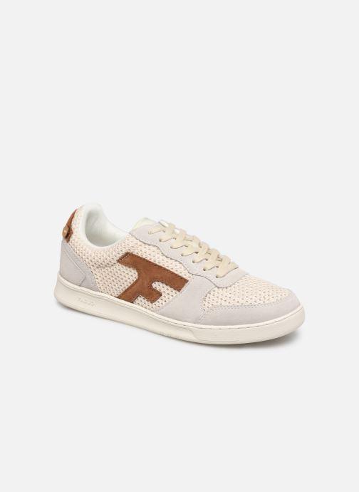 Sneaker Faguo HAZEL BASKETS SYN WOVEN SUEDE M beige detaillierte ansicht/modell
