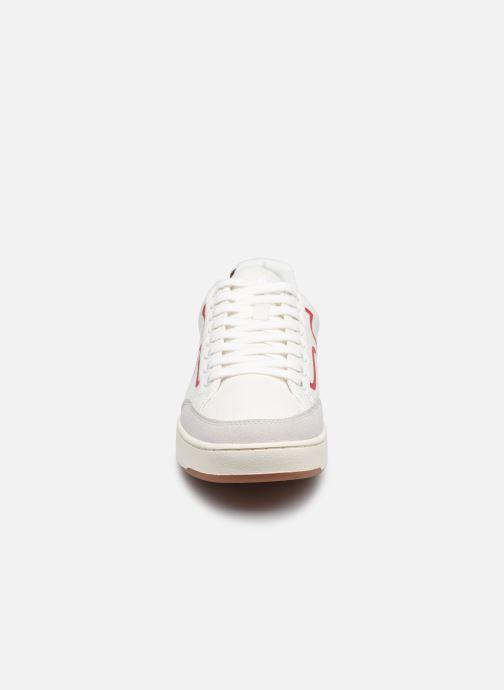 Baskets Faguo LINDEN BASKETS COTTON M Blanc vue portées chaussures
