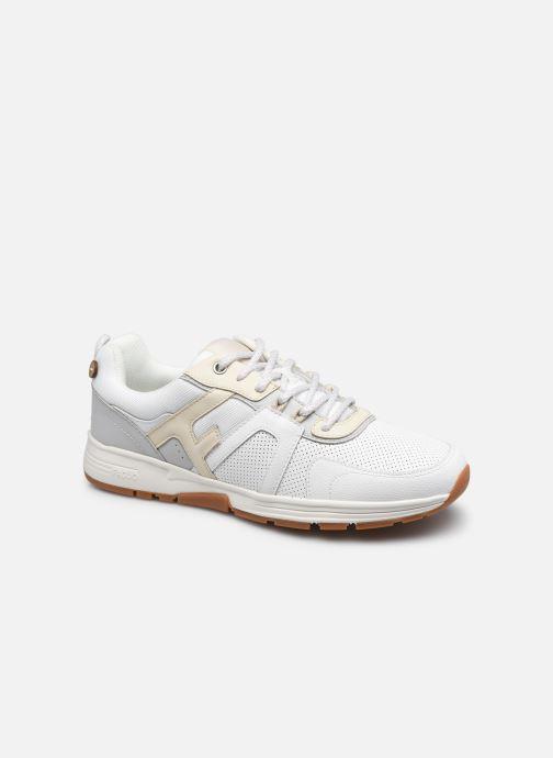 Sneaker Faguo WILLOW BASKETS SYN WOVEN CUIR M weiß detaillierte ansicht/modell