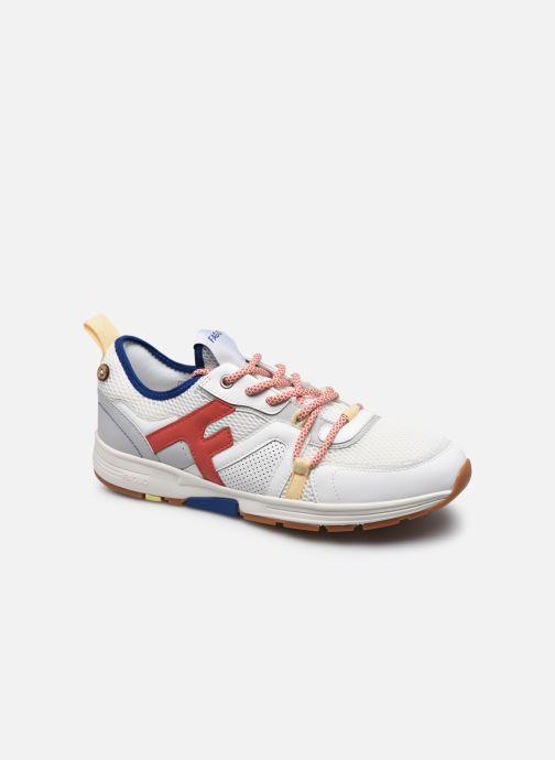 Sneaker Faguo WILLOWSOCKS BASKETS SYN WOVEN M weiß detaillierte ansicht/modell