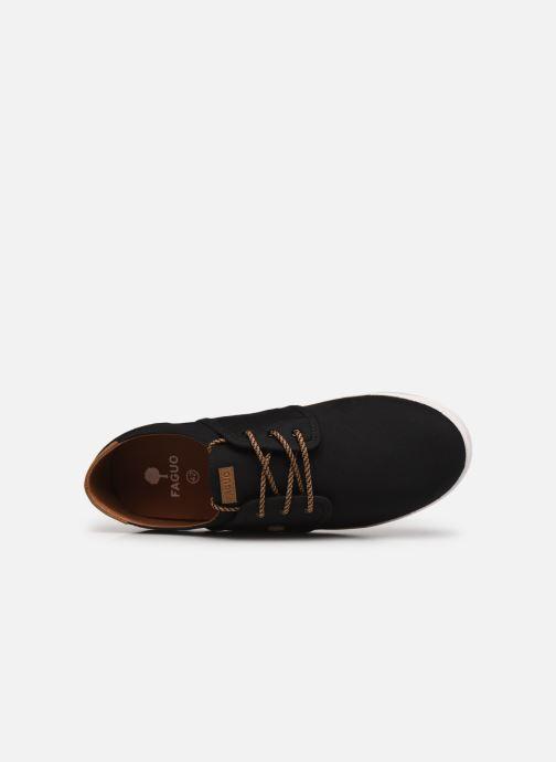 Sneaker Faguo TENNIS CYPRESS COTTON M schwarz ansicht von links