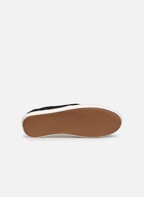 Sneaker Faguo TENNIS CYPRESS COTTON M schwarz ansicht von oben