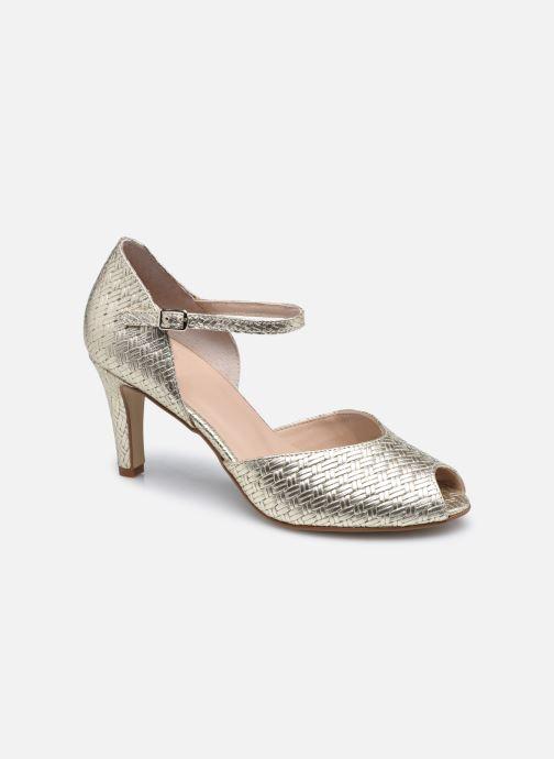 Zapatos de tacón Georgia Rose Savana Oro y bronce vista de detalle / par