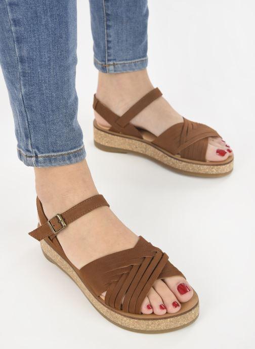 Sandales et nu-pieds El Naturalista Tulbend N5590 Marron vue bas / vue portée sac