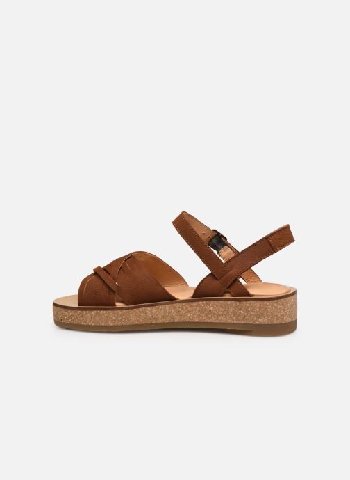 Sandales et nu-pieds El Naturalista Tulbend N5590 Marron vue face