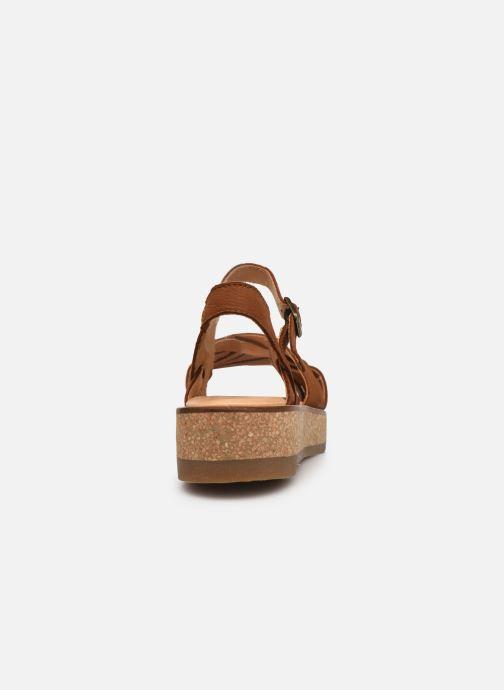 Sandales et nu-pieds El Naturalista Tulbend N5590 Marron vue droite