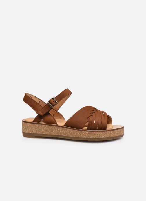 Sandales et nu-pieds El Naturalista Tulbend N5590 Marron vue derrière