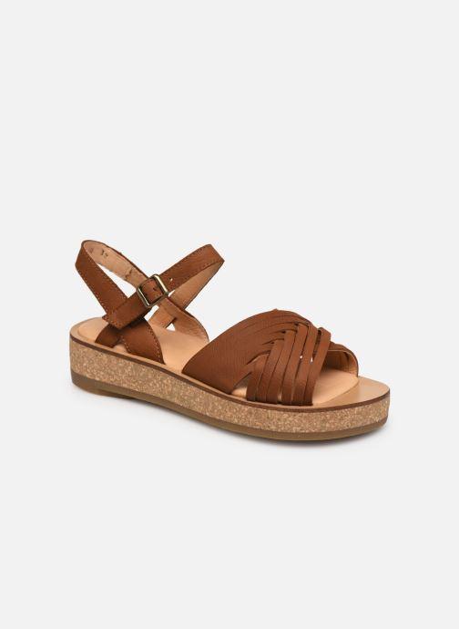 Sandales et nu-pieds El Naturalista Tulbend N5590 Marron vue détail/paire