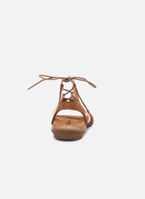 Sandales et nu-pieds El Naturalista Wakataua N5069 Marron vue droite