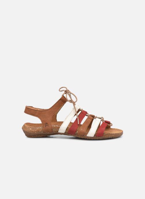 Sandales et nu-pieds El Naturalista Wakataua N5069 Marron vue derrière