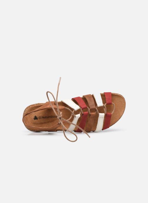 Sandales et nu-pieds El Naturalista Wakataua N5069 Marron vue gauche