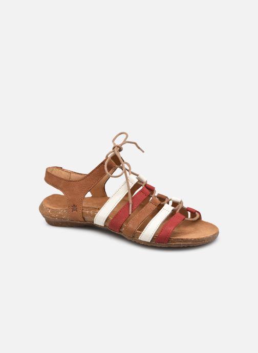 Sandales et nu-pieds El Naturalista Wakataua N5069 Marron vue détail/paire
