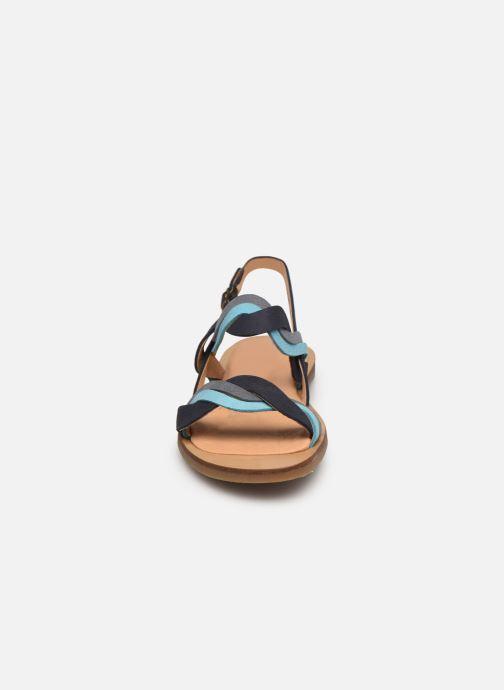 Sandales et nu-pieds El Naturalista Tulip N5188 Bleu vue portées chaussures