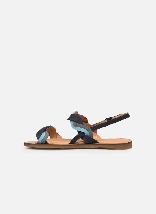Sandales et nu-pieds El Naturalista Tulip N5188 Bleu vue face
