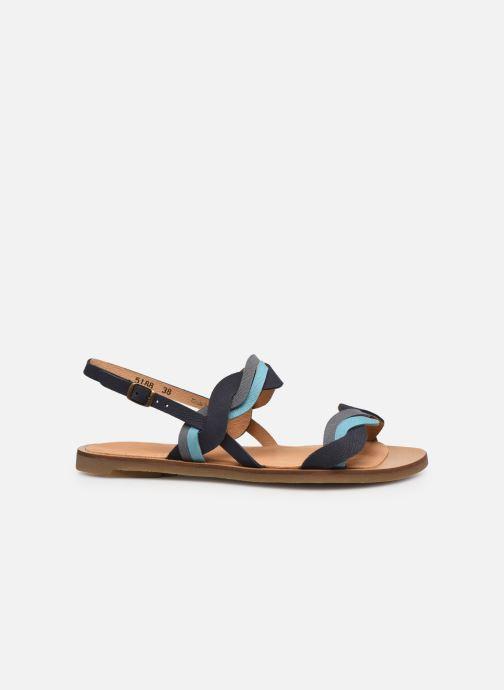 Sandales et nu-pieds El Naturalista Tulip N5188 Bleu vue derrière