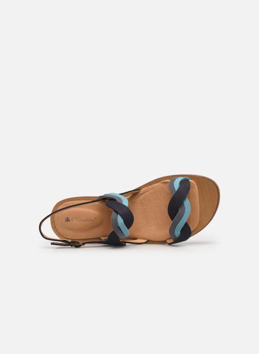 Sandales et nu-pieds El Naturalista Tulip N5188 Bleu vue gauche