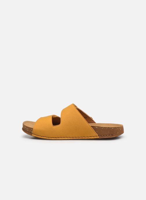 Sandales et nu-pieds El Naturalista Balance N5792T Vegan Jaune vue face