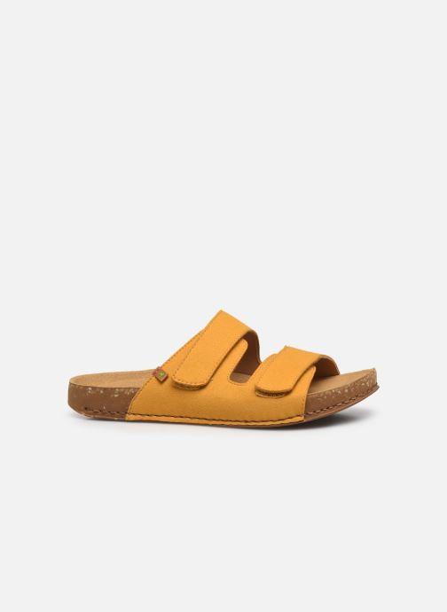 Sandales et nu-pieds El Naturalista Balance N5792T Vegan Jaune vue derrière