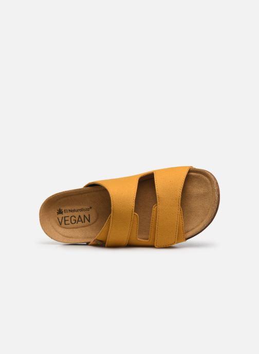 Sandales et nu-pieds El Naturalista Balance N5792T Vegan Jaune vue gauche