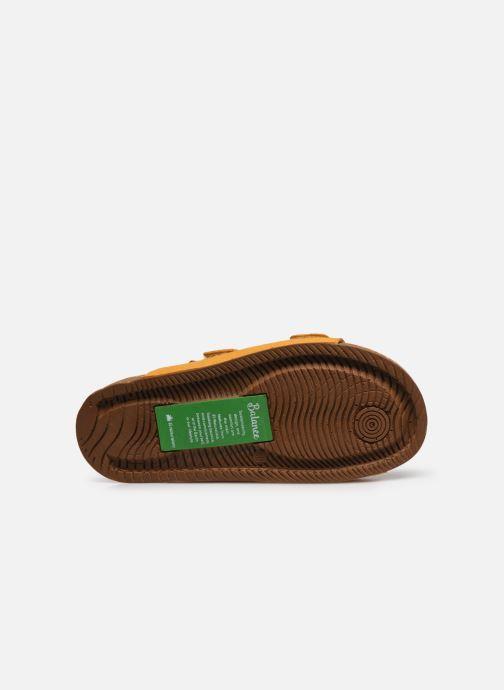 Sandales et nu-pieds El Naturalista Balance N5792T Vegan Jaune vue haut