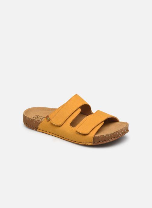 Sandales et nu-pieds El Naturalista Balance N5792T Vegan Jaune vue détail/paire