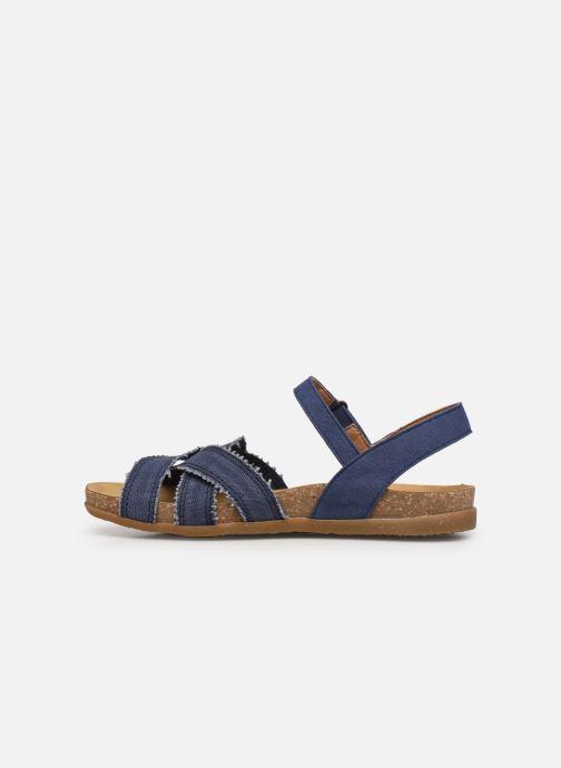 Sandales et nu-pieds El Naturalista Zumaia N5249T - Vegan / Organic Cotton - Bleu vue face
