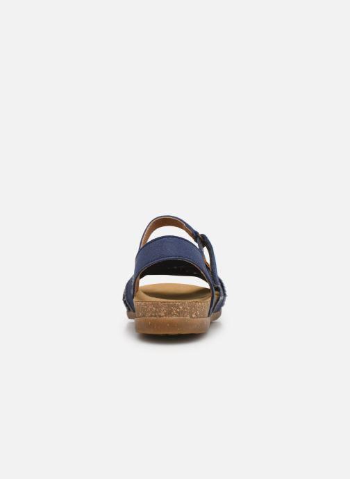 Sandales et nu-pieds El Naturalista Zumaia N5249T - Vegan / Organic Cotton - Bleu vue droite