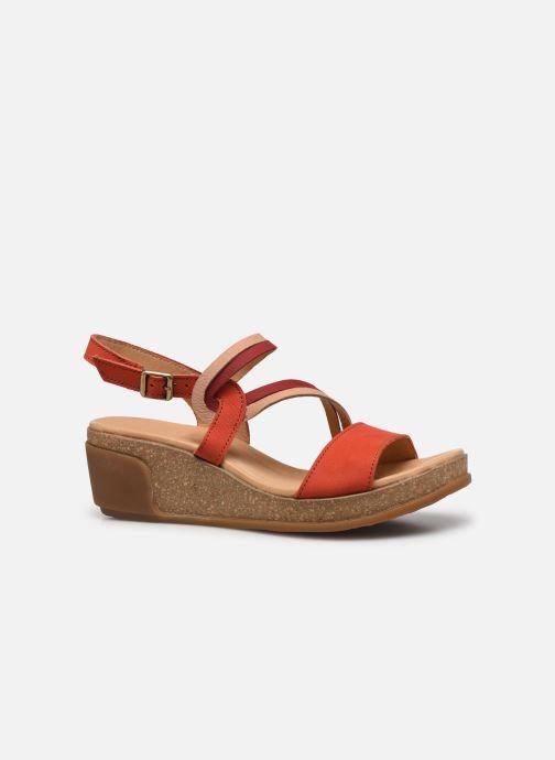 Sandales et nu-pieds El Naturalista Leaves N5019 Orange vue derrière