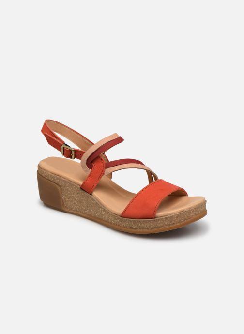 Sandales et nu-pieds El Naturalista Leaves N5019 Orange vue détail/paire