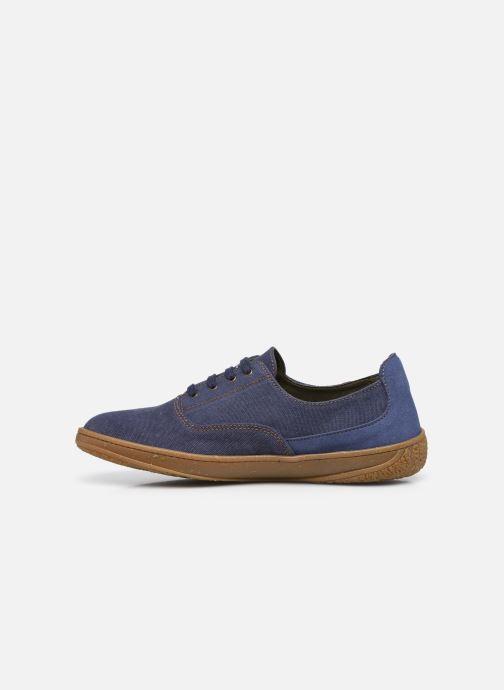Sneakers El Naturalista Amazonas N5394T Vegan / Organic Cotton Azzurro immagine frontale