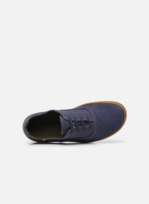Sneakers El Naturalista Amazonas N5394T Vegan / Organic Cotton Azzurro immagine sinistra