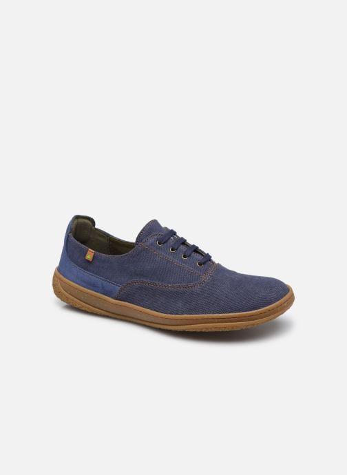 Sneaker El Naturalista Amazonas N5394T Vegan / Organic Cotton blau detaillierte ansicht/modell