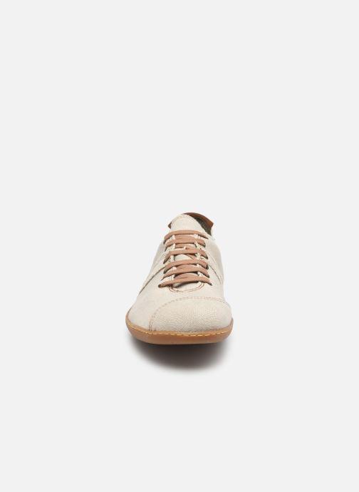 Baskets El Naturalista El Viajero N5288T Vegan Gris vue portées chaussures