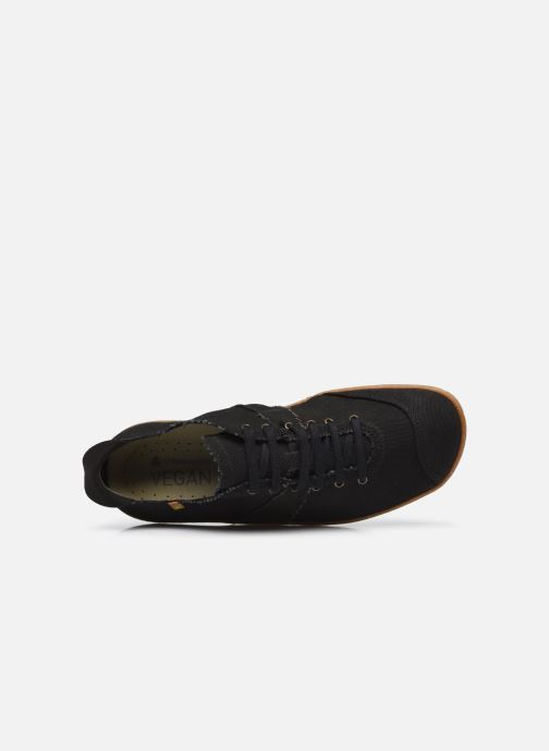 Sneakers El Naturalista El Viajero N5288T Vegan Nero immagine sinistra