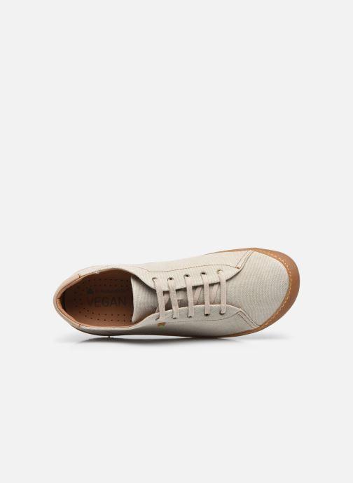 Sneakers El Naturalista Pawikan N5767T Vegan Grigio immagine sinistra