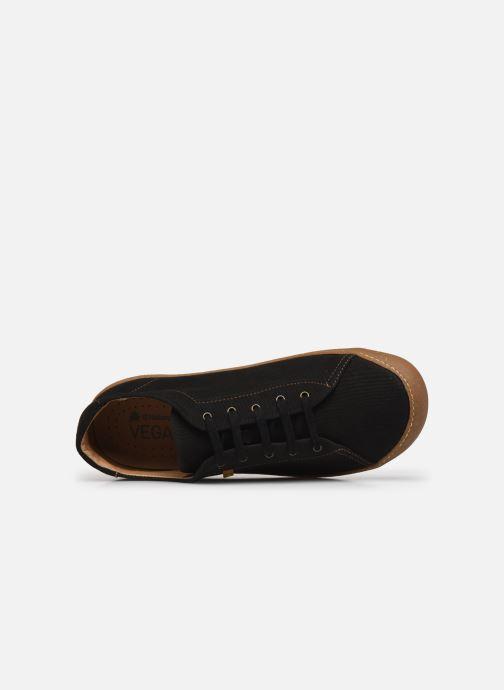 Sneakers El Naturalista Pawikan N5767T Vegan Nero immagine sinistra