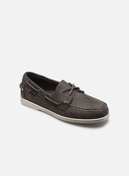 Chaussures à lacets Sebago Portland Crazy H Docksides Gris vue détail/paire