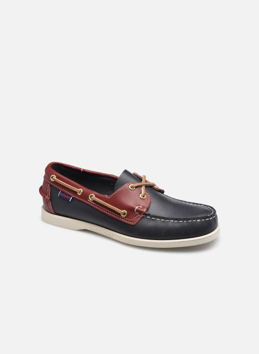 Chaussures à lacets Sebago Portland Spinnaker Docksides Bleu vue détail/paire