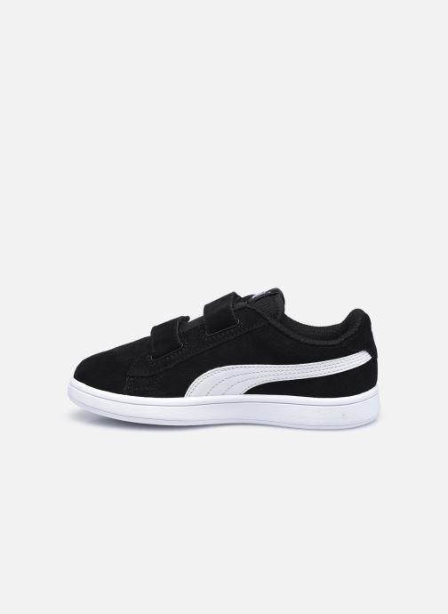 Sneaker Puma Smash v2 K schwarz ansicht von vorne