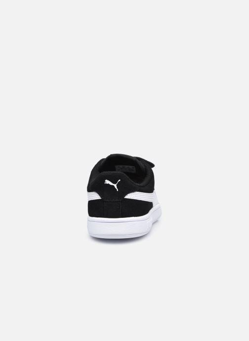 Sneaker Puma Smash v2 K schwarz ansicht von rechts