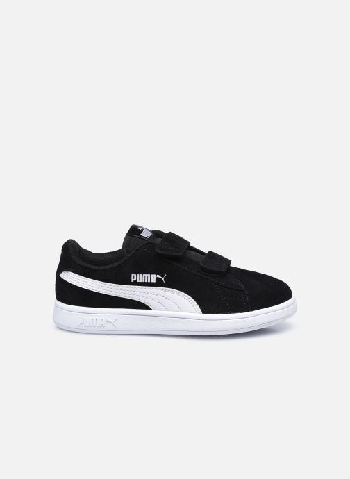 Sneaker Puma Smash v2 K schwarz ansicht von hinten