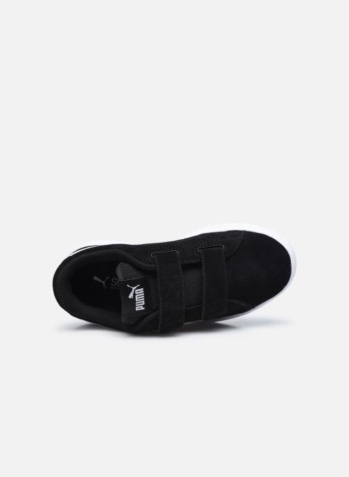 Sneaker Puma Smash v2 K schwarz ansicht von links