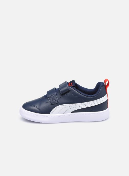 Sneakers Puma Courtflex v2 Blauw voorkant