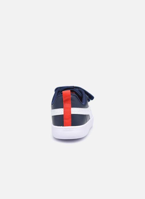 Sneakers Puma Courtflex v2 Blauw rechts