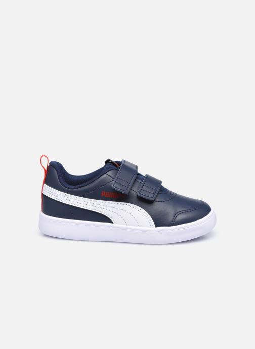 Sneakers Puma Courtflex v2 Blauw achterkant