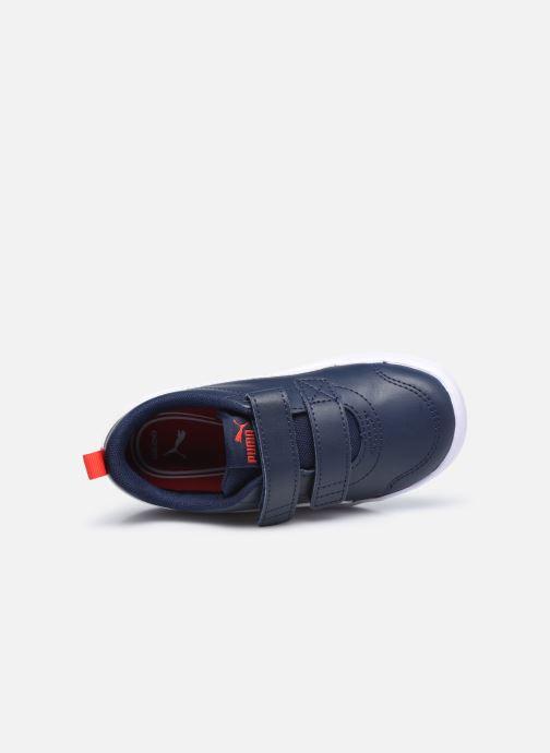 Sneakers Puma Courtflex v2 Blauw links