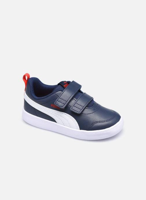 Sneakers Puma Courtflex v2 Blauw detail